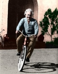 einstein-on-a-bike