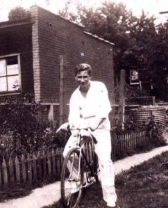 Uncle Ray on a bike