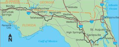 DeFuniak Springs to St. Augustine