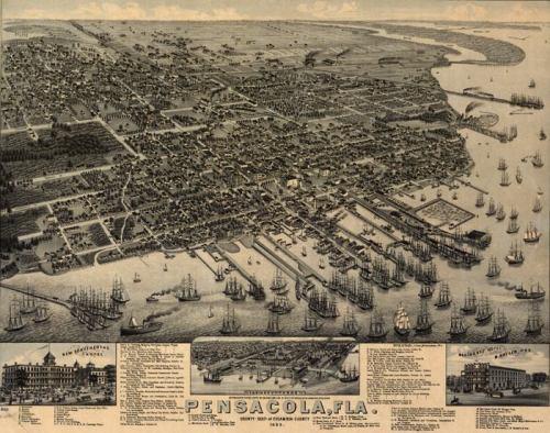 Pensacola in 1885