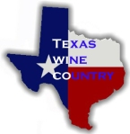 Texas flag wine
