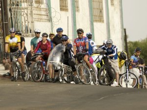 Riders in the Ciclopista Tijuana