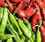 Fruits of chile harvest