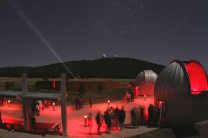 A star party at McDonald Observatory