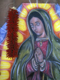 Virgin of Guadelupe and chiles