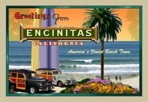 Old Encinitas postcard