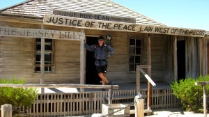 At the Judge Roy Bean Visitor Center in Langtry, in West Texas