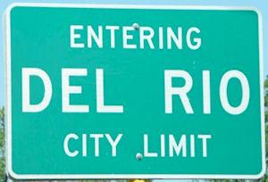 Del Rio sign