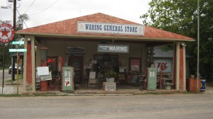 In the Hill Country Town of Waring