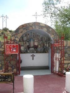 Roadside shrine overview