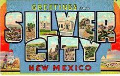 Silver City postcard