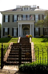 A stately home in St. Francisville