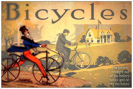 "the history and evolution of cycling Cycling history __ there's much more to the history of cycling than the evolution from ""hobby -horses history and rules __ history of cycling equipment and a."