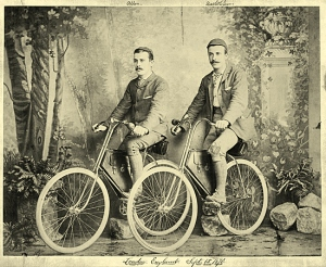Allen and Sachtleben in London in 1890