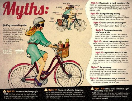 Myths about biking