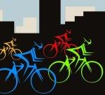 Urban biking image