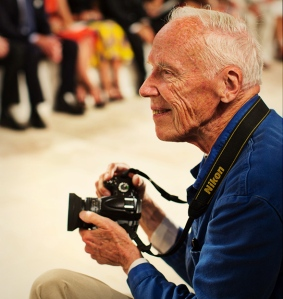 Bill Cunningham at work