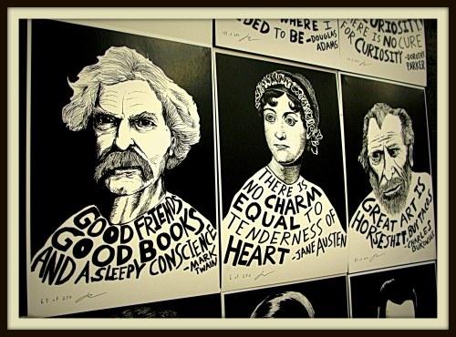 Art exhibit at Community Beer Co., Dallas