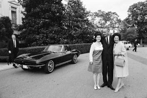 The Johnsons and Luci's 1965 Corvette Stingray